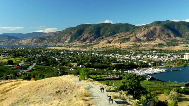 Penticton stad Okanagan Valley British Columbia