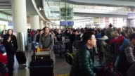 People Arrives At Beijing International Airport