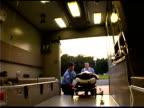 People at ambulance