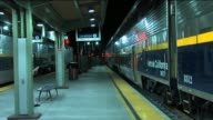 People at an Amtrak Train Stop on September 01 2013 in Los Angeles California