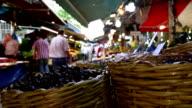 People at bazaar