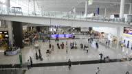 WS HA People at International Airport / Hong Kong, China