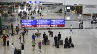 MS HA People at International Airport / Hong Kong, China