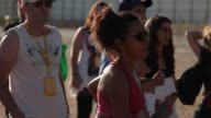 People at Rock In Río Atmosphere Rock In Rio day 1 on June 30 2012 in Arganda del Rey Spain
