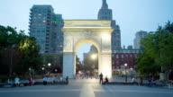 WS T/L People at Washington Square Park / New York City, New York, USA