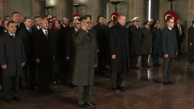 People came to a halt for two minutes' contemplation on November 10 2017 as Turkey marked the 79th anniversary of the death of the country's founder...