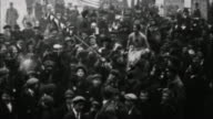 People celebrate end of WWI / France