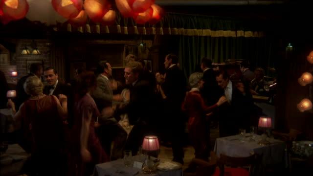 MS People dancing in speakeasy nightclub  / Chicago, Illinois, United States