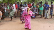 MS People dancing in Voodoo Ceremony / Togo