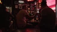 People Enjoying Live Music In Dublin Temple Bar Pub