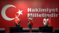 People gather to protest July 15 failed military coup attempt at Taksim Square in Istanbul Turkey on August 09 2016 Turkish officials accuse USbased...