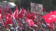 "People gather to support ""Democracy and Martyrs' Rally"" held to protest against the July 15 failed coup by the Fetullah Terrorist Organization at..."