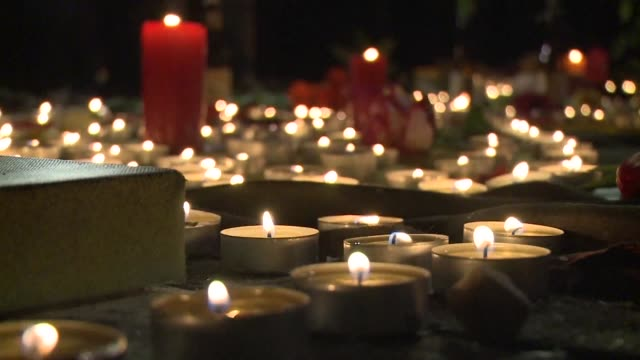 People gathered for a vigil Tuesday night in Brussels to mourn the loss of those killed in the deadly terror attack on the city that morning