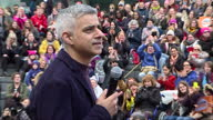 People gathered in London to take part in the 'Walk in Her Shoes' march for women's rights ahead of International Women's Day on March 8th Shows...