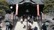 MS TU People going in naritasan shinshoji temple / Narita, Chiba, Japan