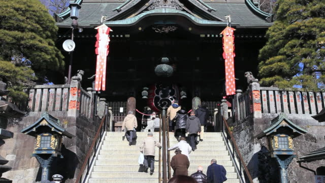 MS TU People going in naritasan shinshoji temple / Narita, Chiba, Japan