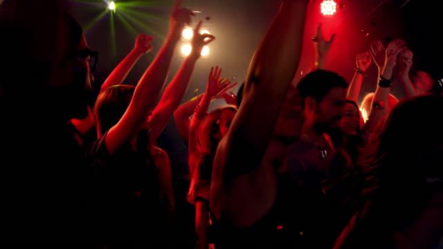 Menschen in der disco