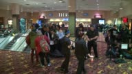 WGN People In Line to See Star Wars Episode VII on Opening Night in Chicago Movie Theater on December 17 2015