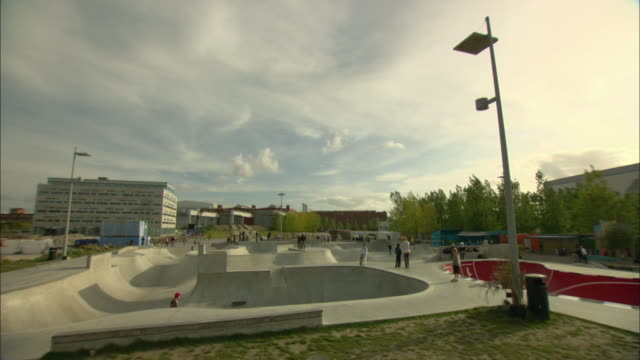 WS People in skate park / Malmo, Sweden