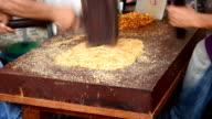 People Making Khanom Tup Tap