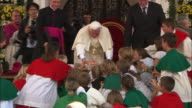 People near pope bendedict XVI