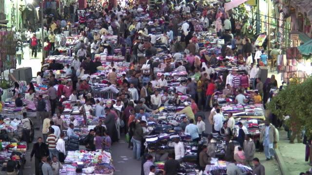 WS HA People on Khan el-Khalili, major souk in Islamic district of Cairo / Egypt