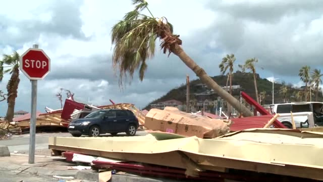 People on the islands of Saint Martin and Saint Barts on Sunday contemplated the task of rebuilding their lives after Hurricane Irma destroyed homes...