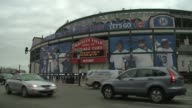 People outside of Wrigley Field on Chicago Cubs opening day on April 05 2015 in Chicago Illinois