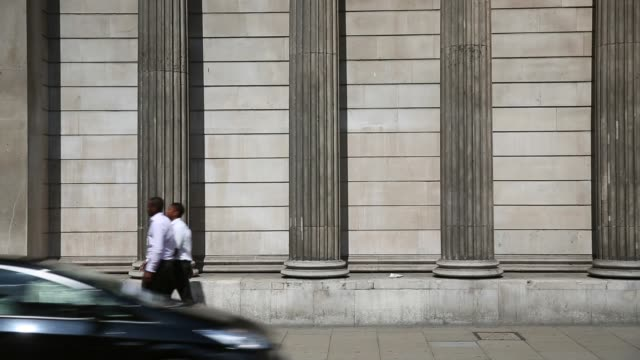 LS people passing The Bank Of England building in London The Bank of England has again held interest rates at a record low of 05% for five years