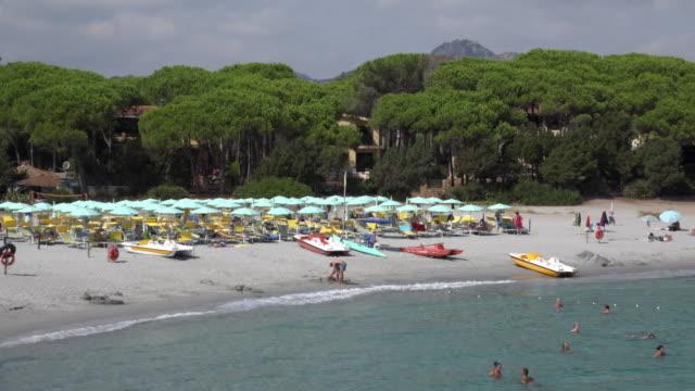 ZO / People relax at Cala Liberotto beach