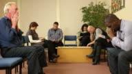 Menschen Samstag im Wartezimmer-Arzt, Zahnarzt DOLLY Hospital