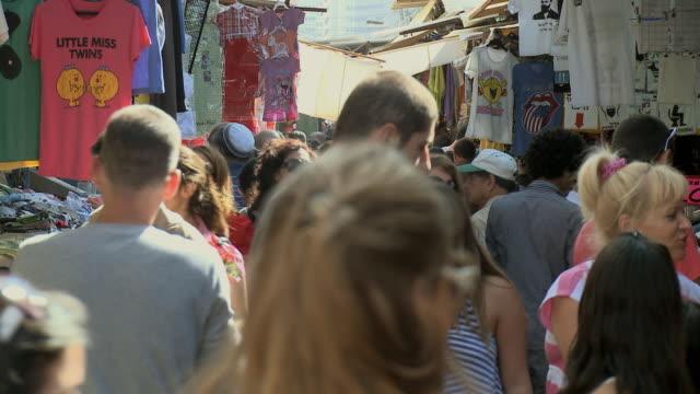 MS People shopping at Carmel Market / Tel Aviv, Israel