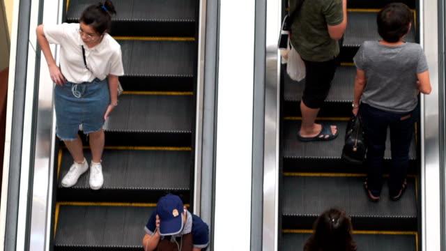 SLO MO People Shopping Mall