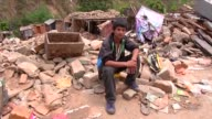 People sit out side their houses after 78 magnitude earthquake struck in Kathmandu April 30 2015 Hundreds of people have died in Nepal after the...