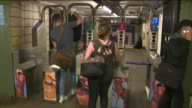 WPIX People Taking The Bedford 'L' Train Station
