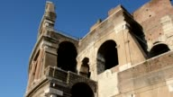 People visit The Colosseum is one of the bestknown symbols of Roman after its exterior surface restoration in Rome Italy on July 01 2016 The...