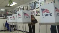 KTLA People Voting in Los Angeles