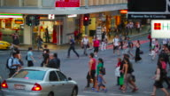People Walking Brisbane CBD
