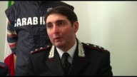 9 People were arrested during Take Away operation Interview Francesco Nacca Carabinieri captain of L'Aquila