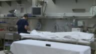 KSWB People Working In Medical Examiner's Lab on May 16 2011 in San Diego California