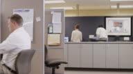 MS ZI T/L People working in office / Orem, Utah, USA
