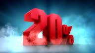 Percentage animation. 10% 20% 30% 40% 50%