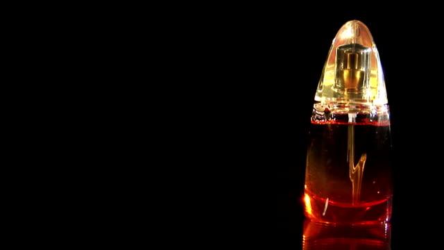 Perfume bottle rotate
