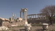 Pergamon, remains of Trajan temple