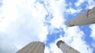 """HD: Pergamum-Turkey """"Temple of Trajan"""""""