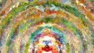 Übersinnlichen Umlauf: außen, Fuß, mid, farbenfrohen (ÜBERLEITUNG