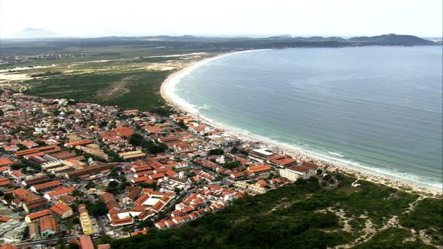 Pero  - Aerial View - Rio de Janeiro, Cabo Frio, Brazil