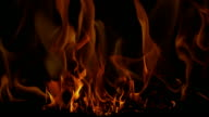 FIRE BACKGROUND: perpetual fireplace (LOOP)