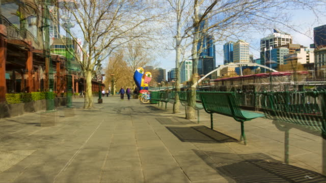 A persons point of view of Melbourne shot as a hyper lapse