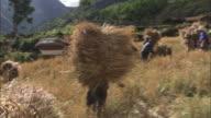 Peru Andes Village of Huaripampa